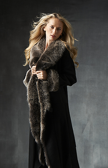 shearling lamb coat for women