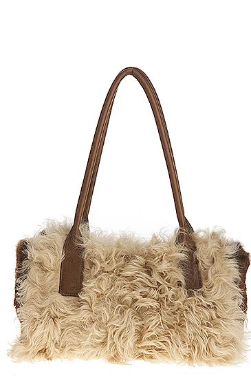curly lamb bag for women