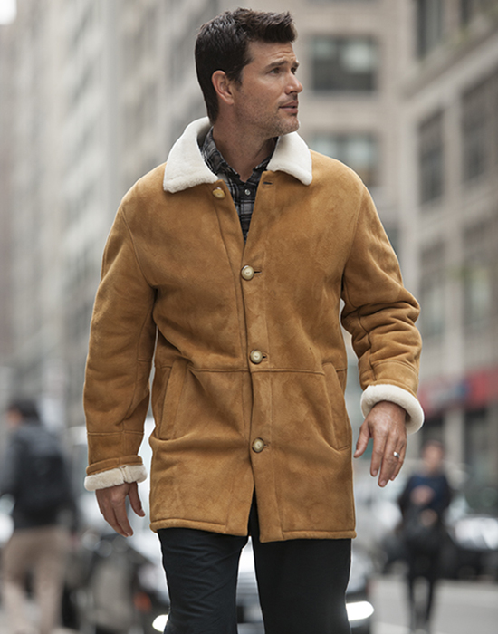 shearling for man